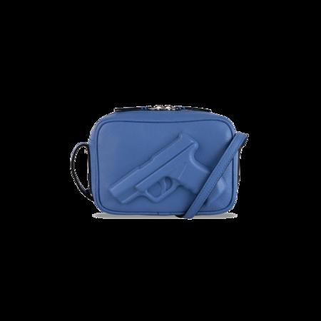 Vlieger & Vandam Camera Bag - Gun Ocean Blue