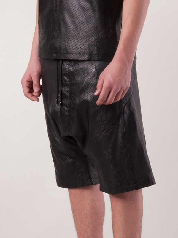 Sons Of Heroes drop crotch shorts