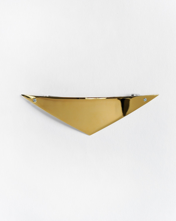 Sylvain le Hen Barrette 026 in Gold