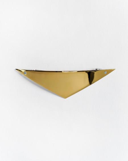 Sylvain le Hen 026 Barrette - shiny gold