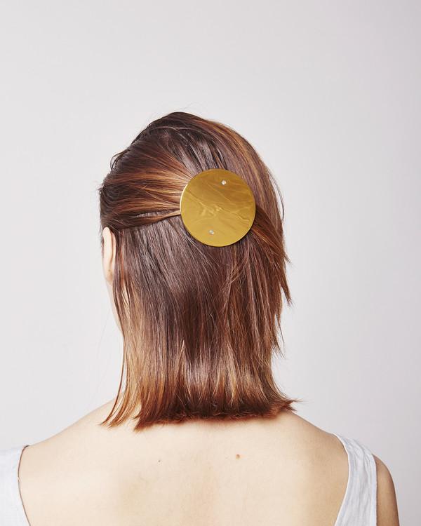Sylvain LeHen Large hairclip HC06 XL in  pink gold