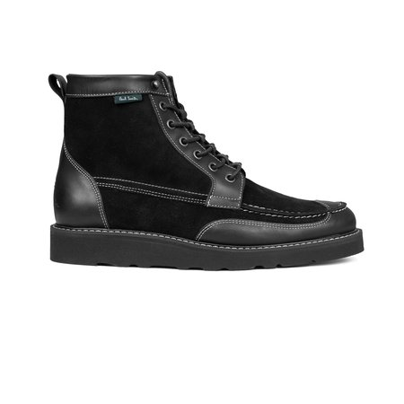 PS Paul Smith Tufnel Leather Boot - Black