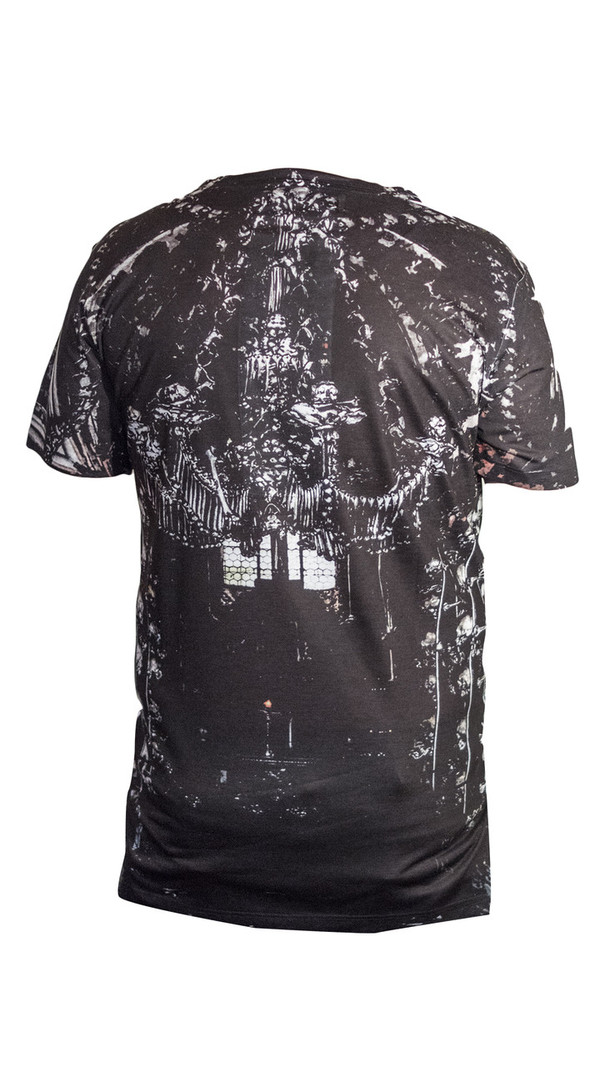 Sons Of Heroes Skull Print T-Shirt