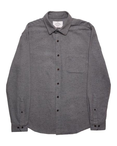 Portuguese Flannel RUDE TOP - GREY