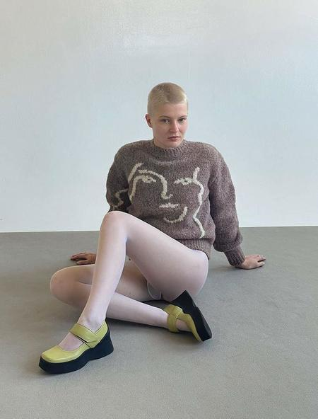 Paloma Wool Anita Knit Sweater - Mid Grey