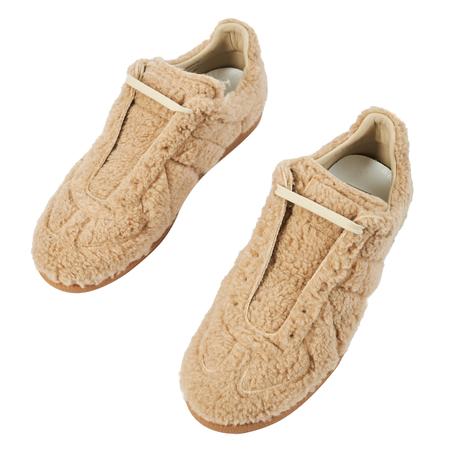 Maison Margiela Beige Fleece Replica Sneakers - Beige