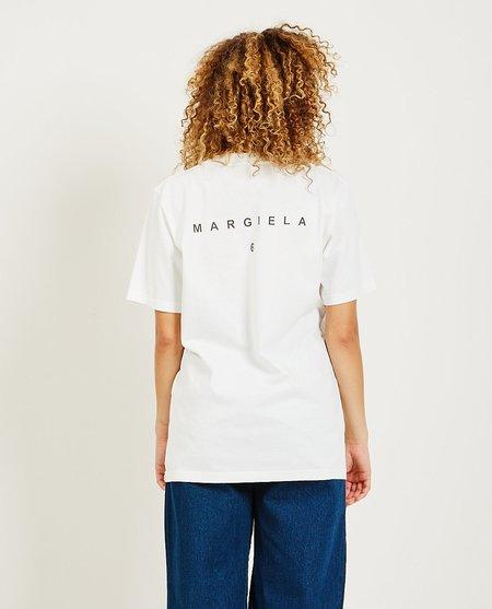 Maison Margiela Photo Print Tee - White
