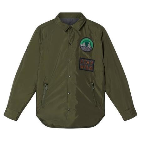 Kids Stella McCartney Child Shirt - Check Print Green