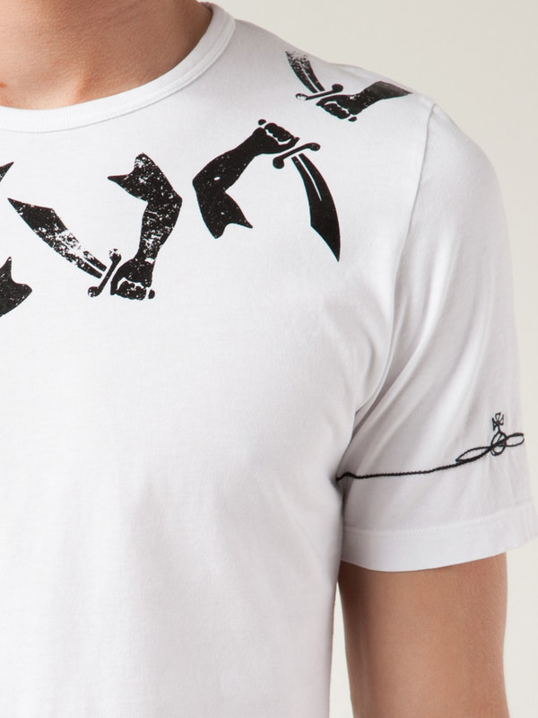 Vivienne Westwood Arm and Cutlass T-Shirt