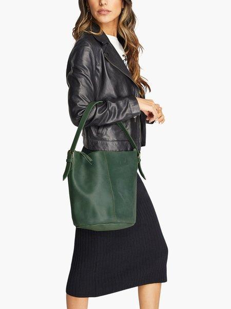Able Eden Bucket Bag - Spruce