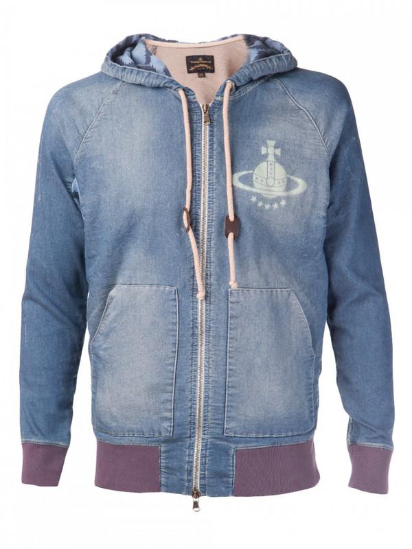Vivienne Westwood Denim Hooded Jacket