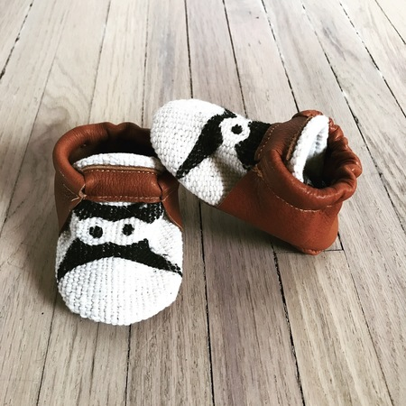 Camper General Store Lucky Eyes Desert Moccs - Leather