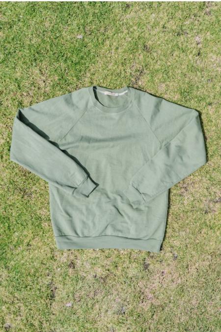Mira Blackman Organic Sweatshirt - Sage