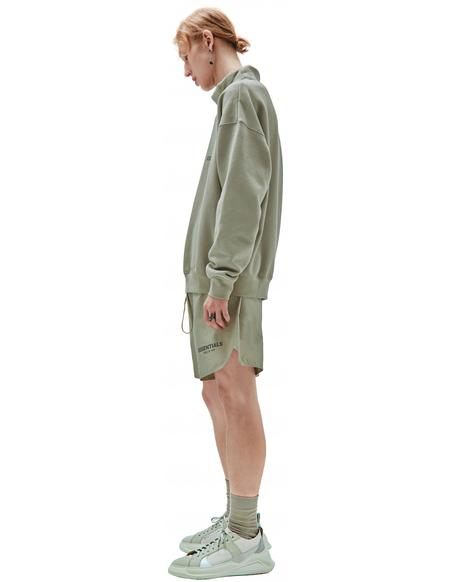 Fear of God Essentials Pullover Mockneck sweater - green