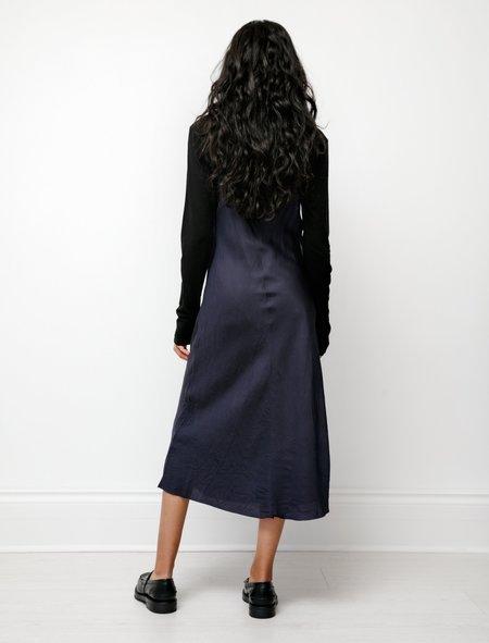 Organic by John Patrick Bias Long Slip Dress - Navy