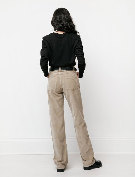 Our Legacy Spiral Cut pant - Clay Grey Cord