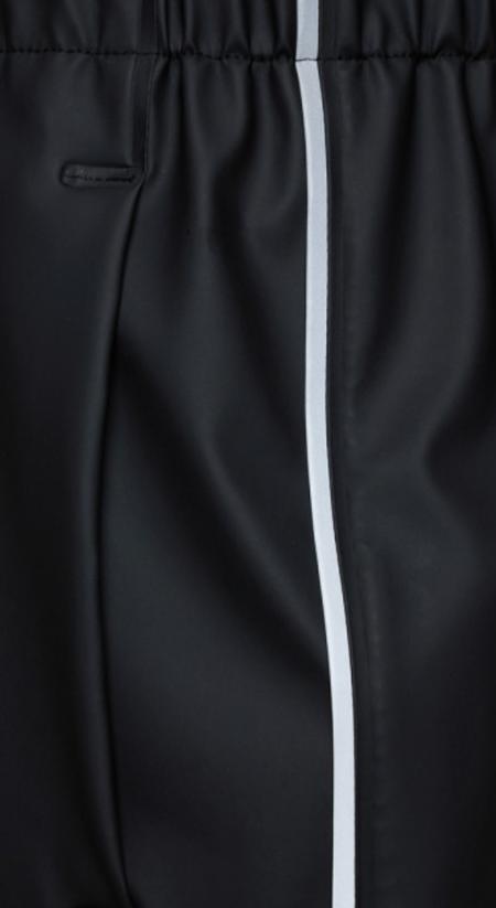 Rains pants - black reflective