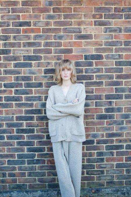 Monica Cordera Soft Wool Pants - Taupe