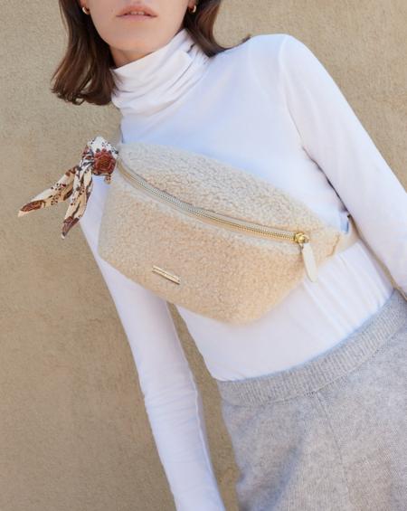 Loeffler Randall Sophie Belt Bag - Cream