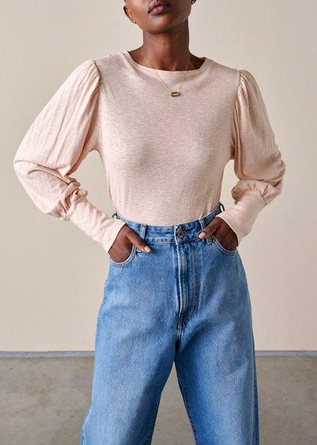 Bellerose Milie Long Sleeve Shirt - Ballet Pink