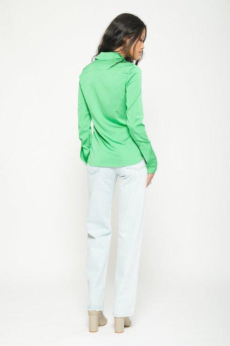 STELLA MCCARTNEY Daria Shirt - Bright Green