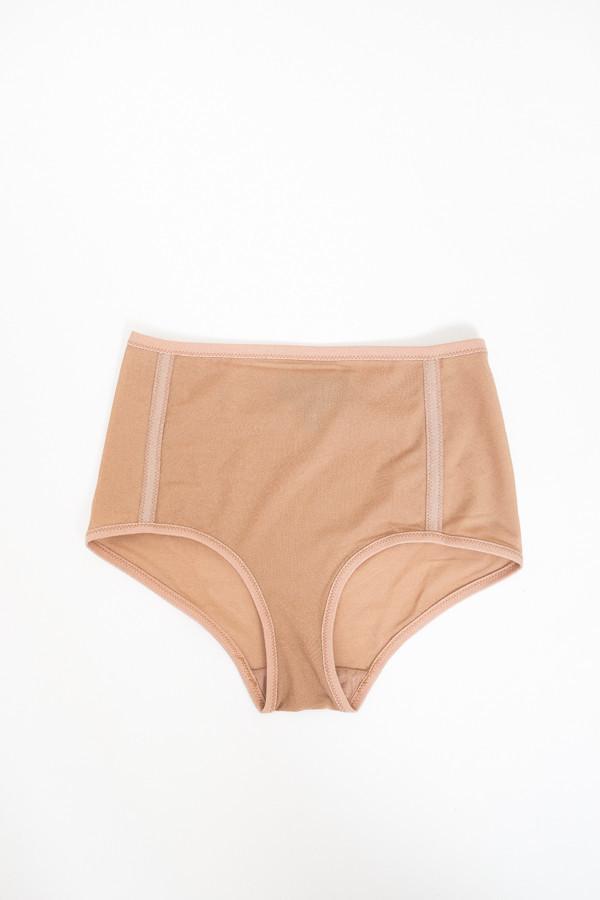 Land of Women Mesh Highwaisted Underwear / Nude