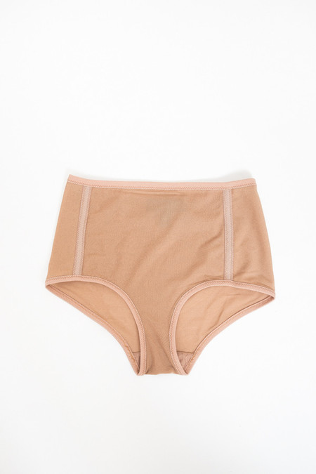 Land of Women Mesh Highwaisted Underwear / Nude
