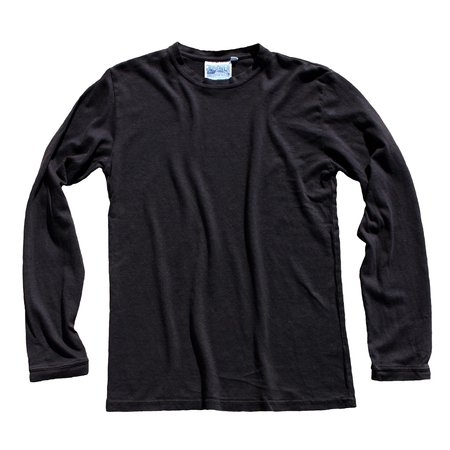 UNISEX Jungmaven Baja Long Sleeve Tee - Black