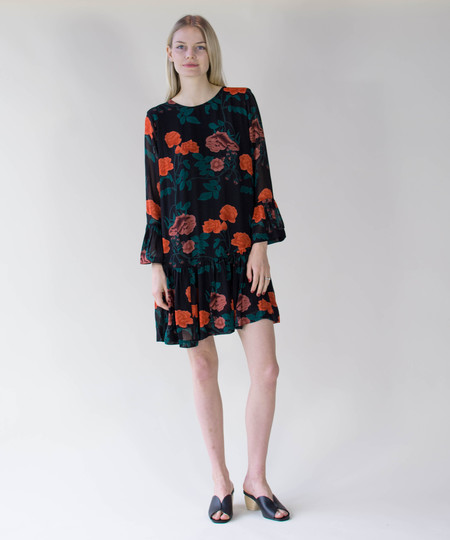 Ganni Newman Georgette Dress