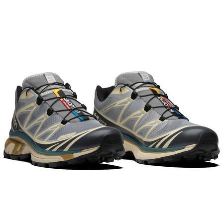 SALOMON XT-6 Shoes  - Quarry / Bleached Sand / Cumin