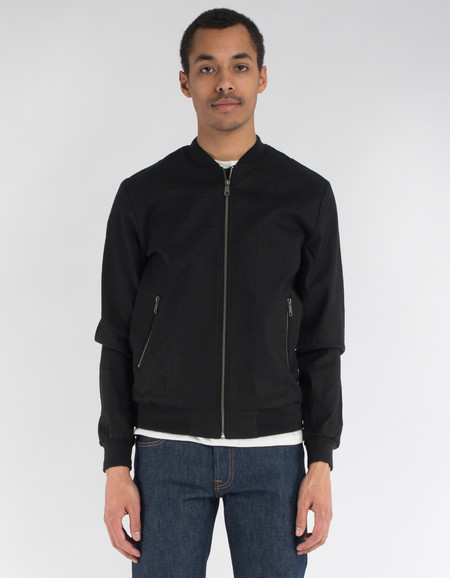 Minimum Hank Jacket Black