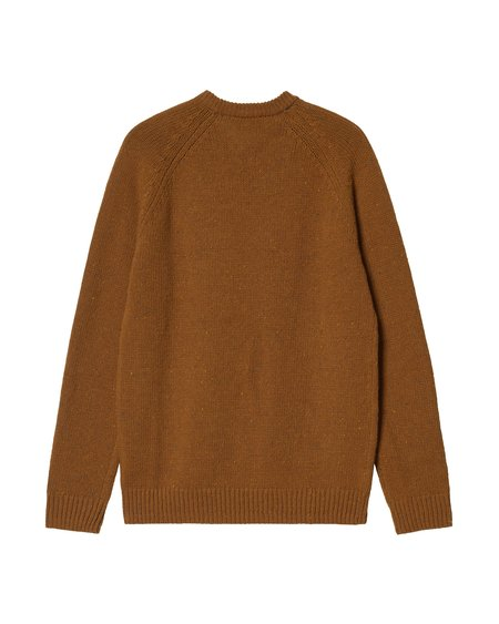 CARHARTT WIP Anglistic Sweater - Speckled Tawny