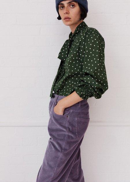 Caramel  Bow Shirt - Evergreen Spot