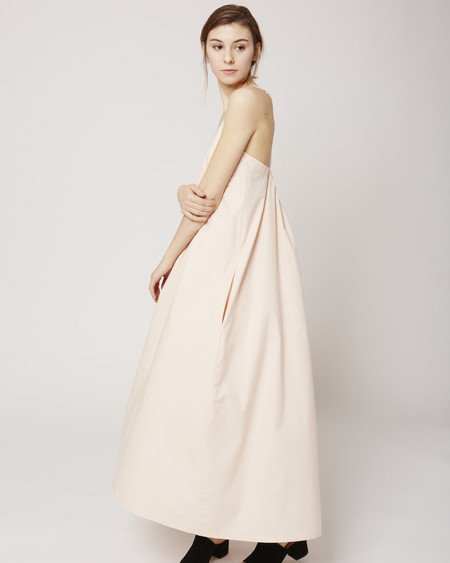 Micaela Greg Loop Dress in Bellini Pink