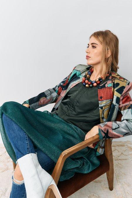 vintage Magaschoni Vintage Vest - Olive