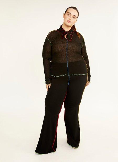 Eliza Faulkner JoJo Flare Leggings - Black Multicolour