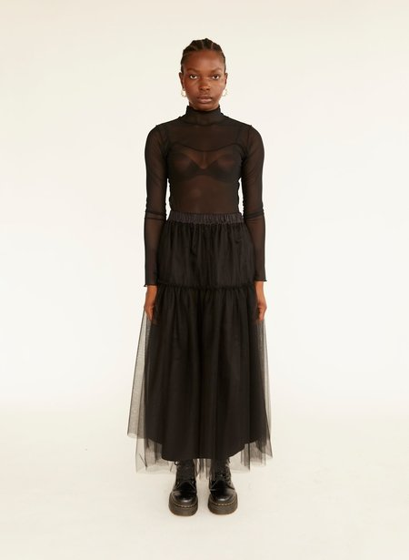 Eliza Faulkner Tulle Tilly Skirt - Black