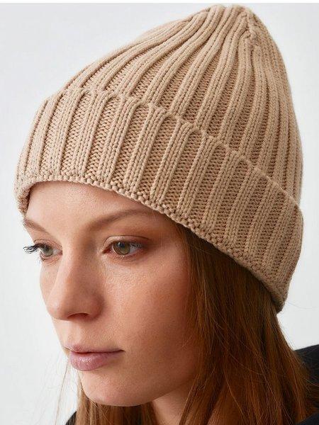 MILA VERT Ribbed Knit Beanie