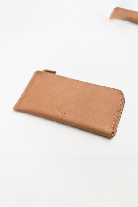 8.6.4 Zip Long Wallet - Tan