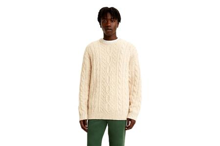 Levi's Stay Loose Cable Crew - Peyote Marl