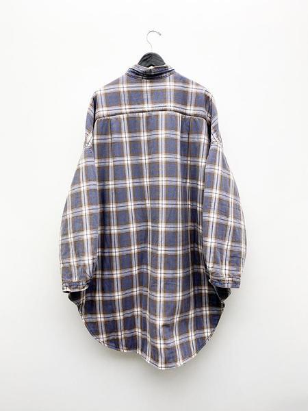 Kapital Flannel Check x Quilting Shirt Coat - plaid check