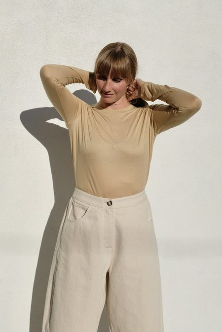 Baserange Long Sleeve Tee - Bamboo Jersey/Cochlea