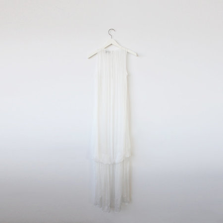 VINCETTA Bustle Slip Dress