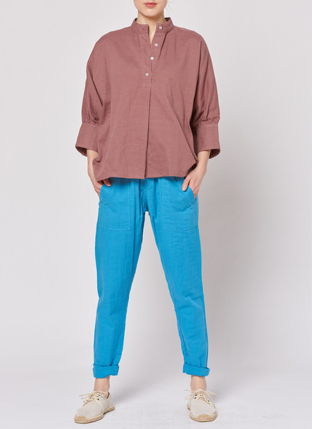Built by Wendy Everyday Shirt - Bordeaux