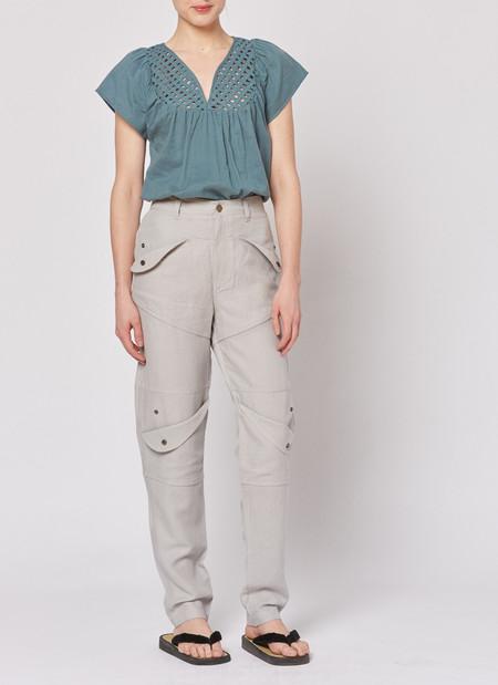 Built by Wendy Snap Pocket Pants - Ash