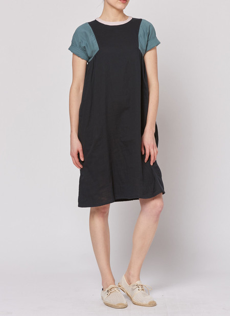 Built by Wendy Tri Dress - Black/Sage