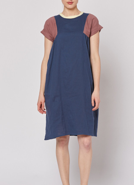 Built by Wendy Tri Dress - Navy
