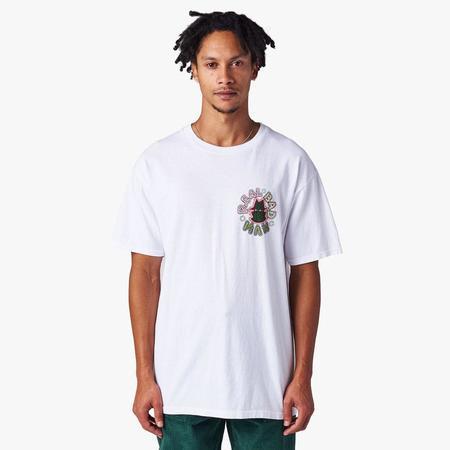 Realbadman Dotted RBM T-shirt - White