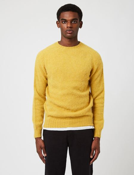 Bhode Supersoft Lambswool Jumper - Nugget Yellow