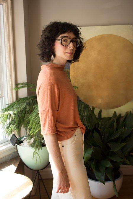 Eve Gravel Tuttle Top - Papaya